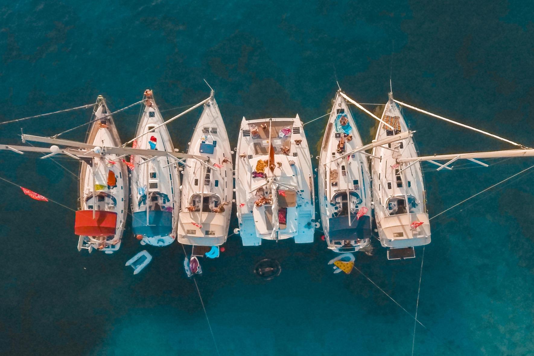 flottiglia in barca a vela ibiza e formentera