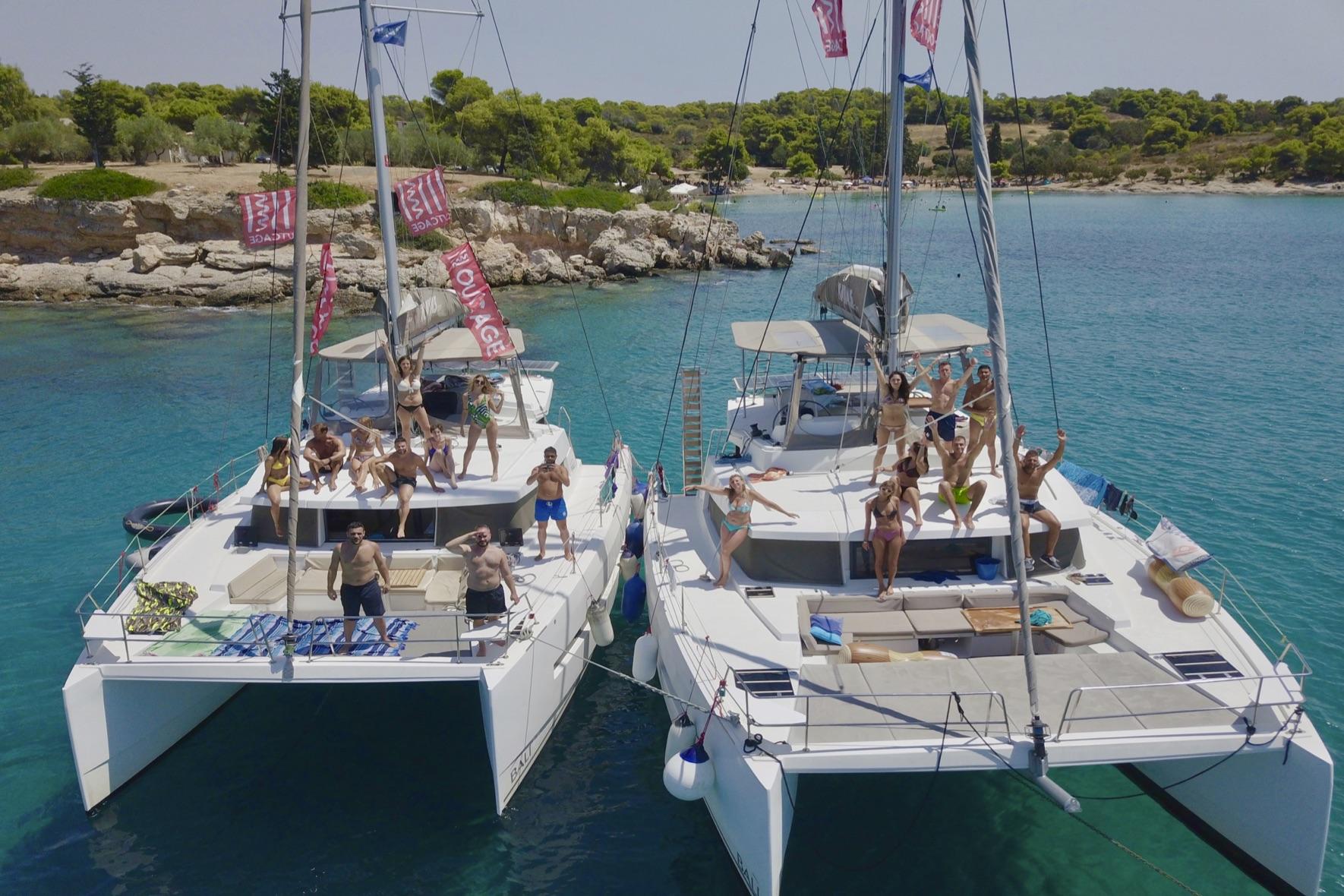 vacanze in catamarano grecia ionica